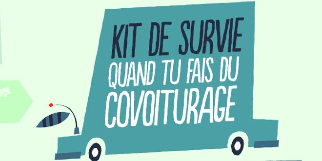 kit de survie covoiturage