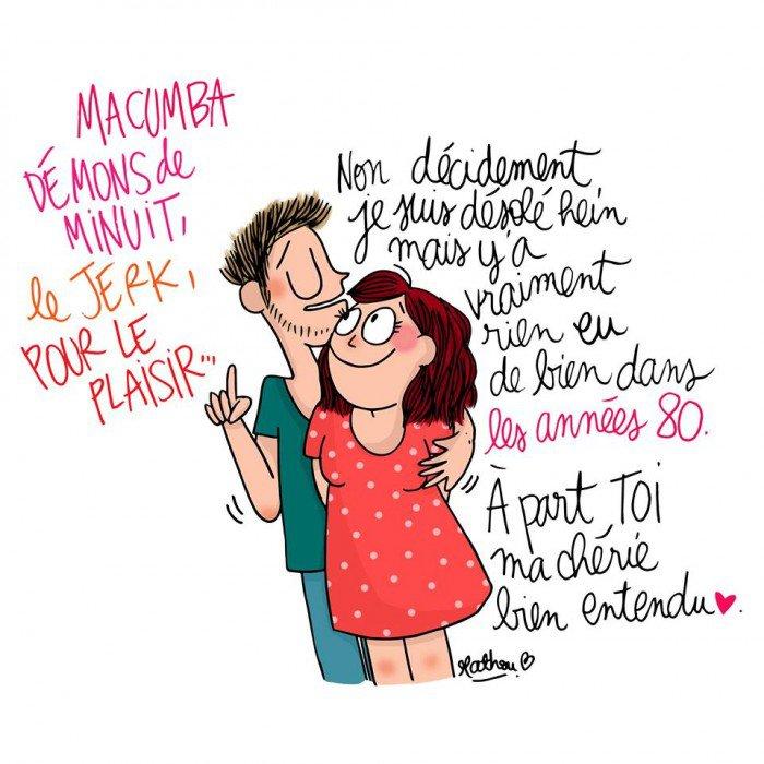 dessin vie quotidienne couple
