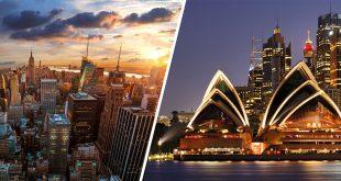 Sydney-NewYorkCity
