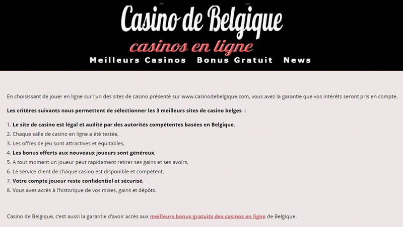 casino en ligne belge 2019