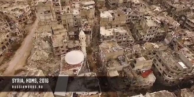 drone-russe-survole-syrie-guerre