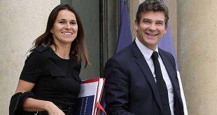 Arnaud-Montebourg-et-Aurelie-Filippetti-en-couple