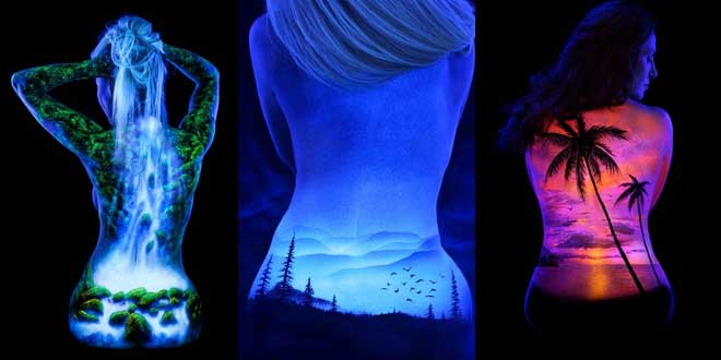 body-painting-fluorescant