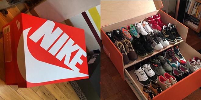 Favori Photos : Il crée de superbes boites à chaussures géantes ! | MT99