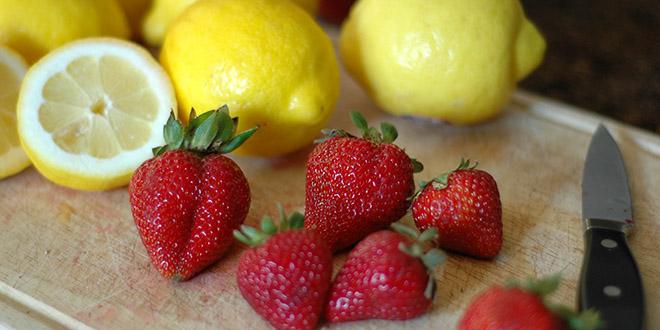 citron-fraise-gout-sucre-fruit