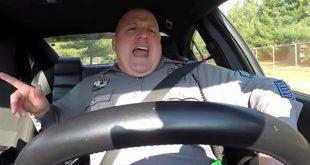 dashcam policier voiture taylor swift