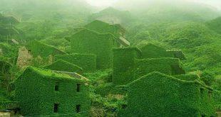 village-chine-verdoyant