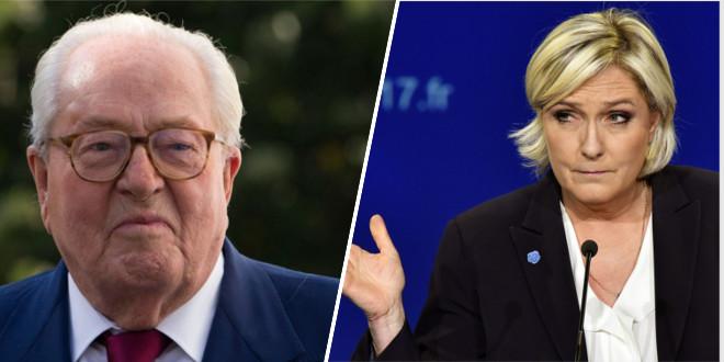 Craquant-totalement-Jean-Marie-Le-Pen-menace-sa-fille-d-une-bagarre-de-rue