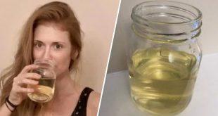angleterre-elle-boit-un-verre-d-urine-par-jour-pour-etre-en-forme