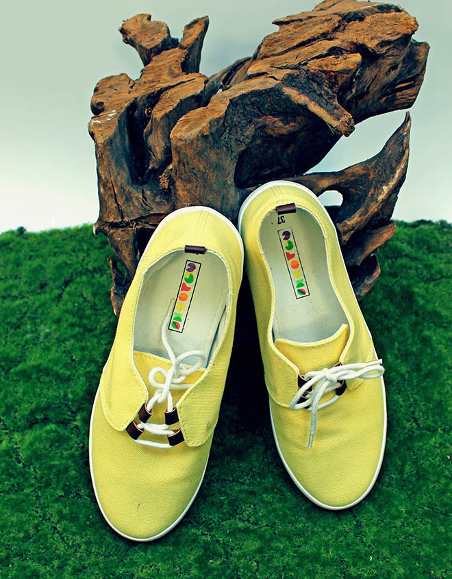 smoothy shoes jaune