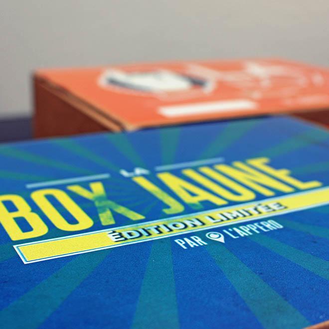 box jaune