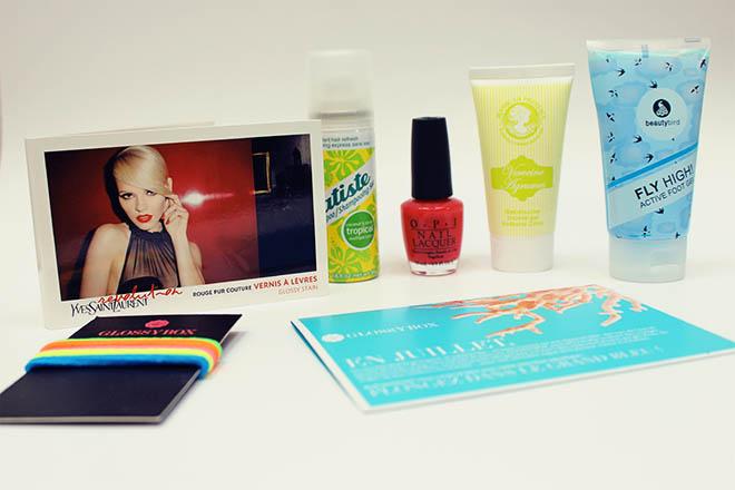 glossy box produits