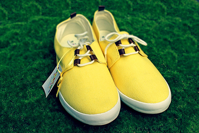 smoothy shoes citron