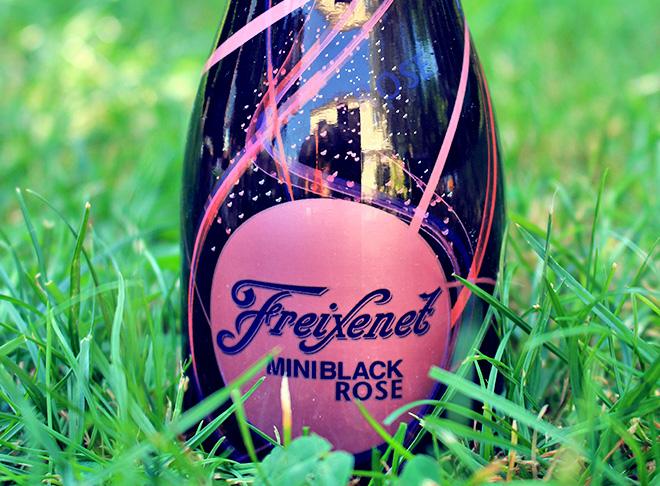 miniblack rosé vin pétillant