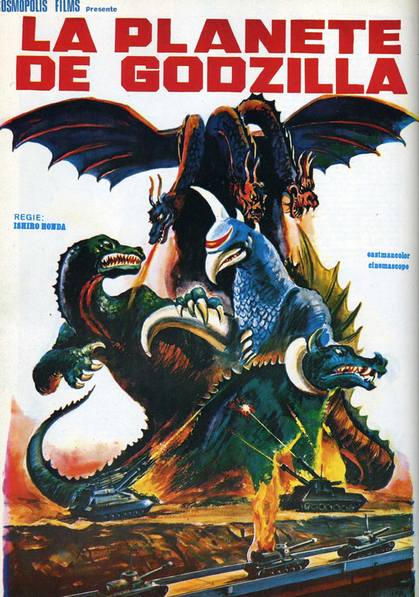 Godzilla en 1972