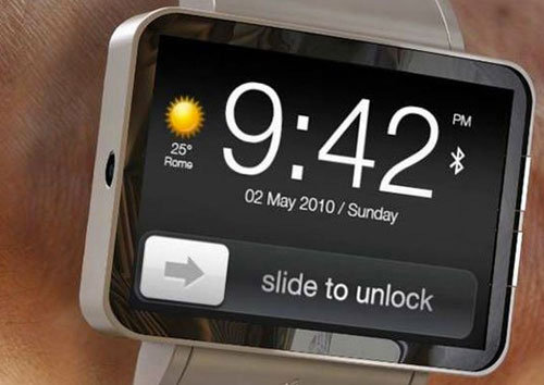 Un concept de la montre iWatch d'Apple