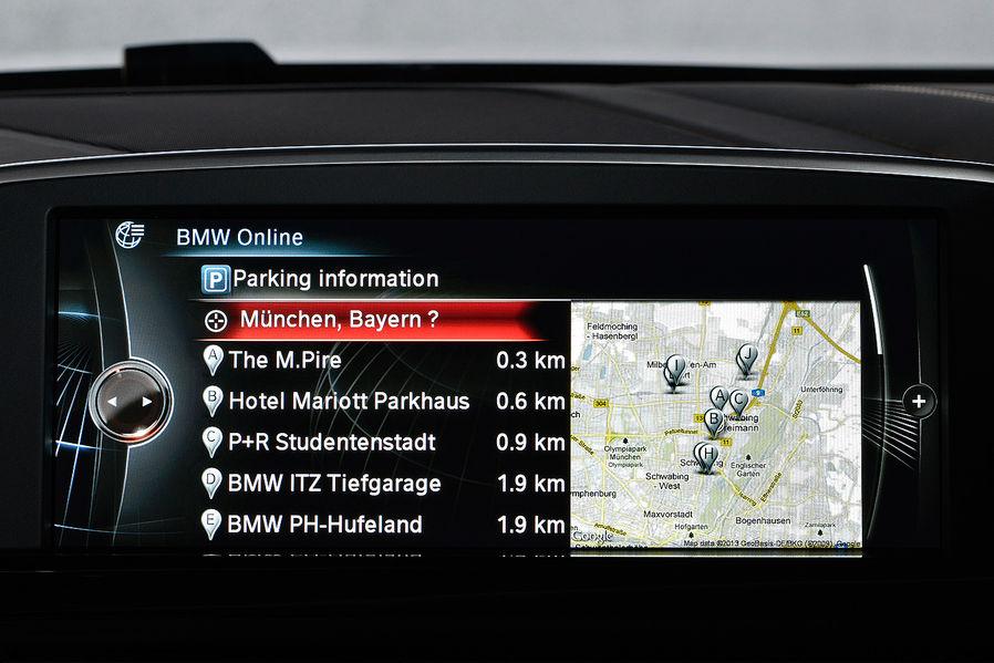 BMW ConnectedDrive GPS