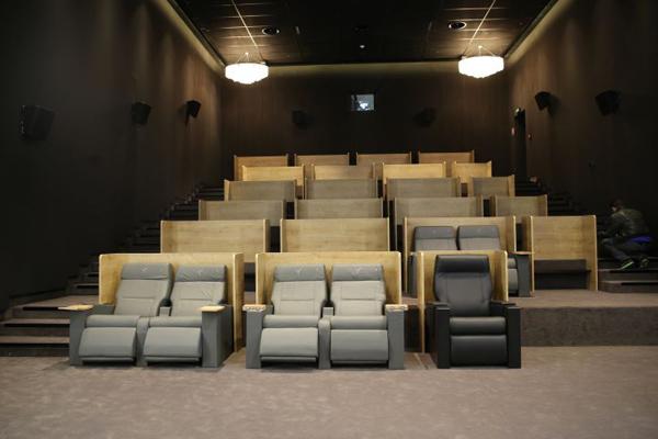 salle de cinéma première classe