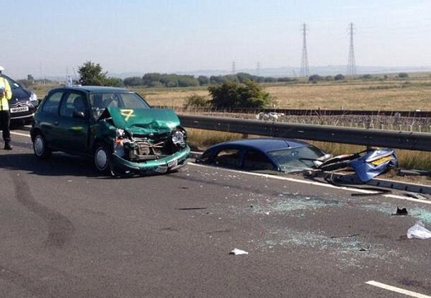 sheppey collision voitures
