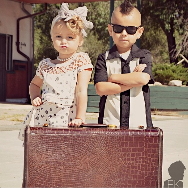 couple baby fashion