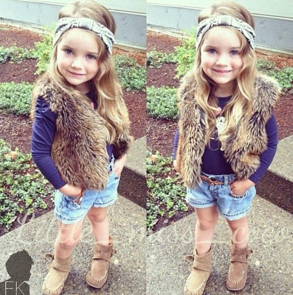 fashion girly baby