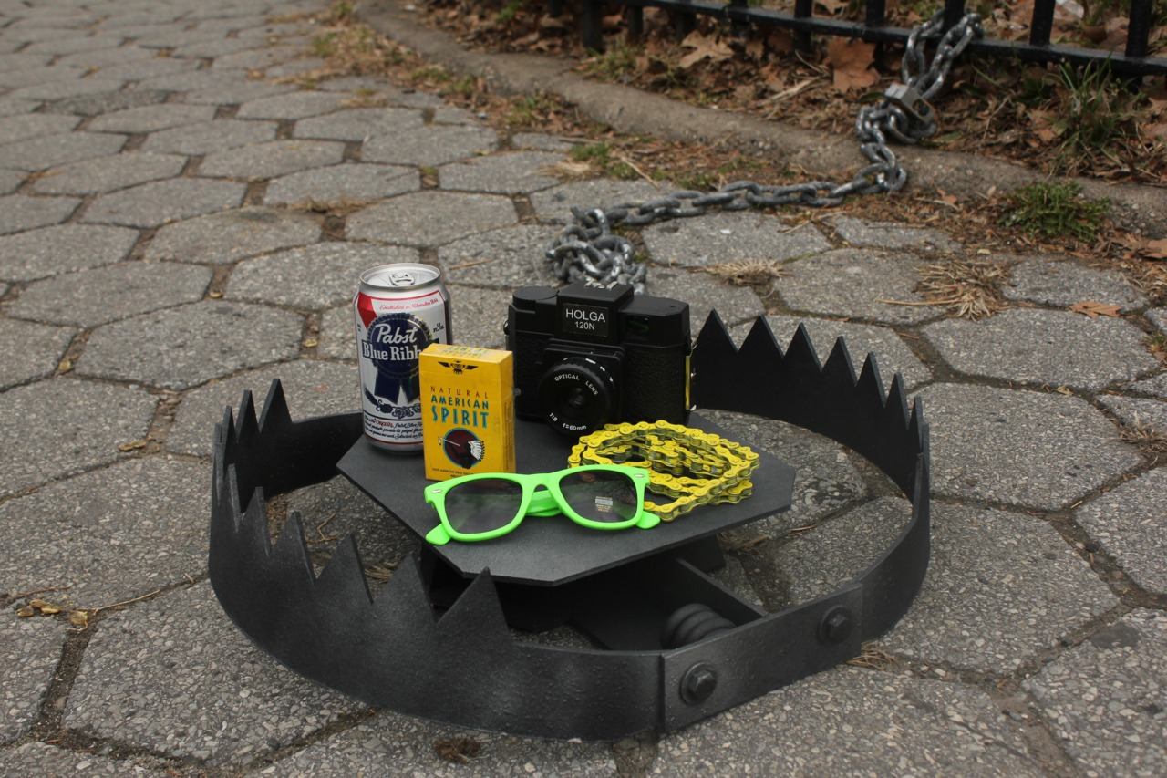 Hipster trap Brooklyn
