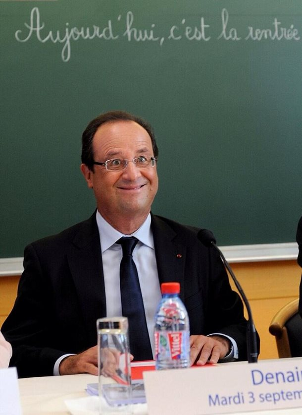 francois hollande photo tète idiot photo censuré