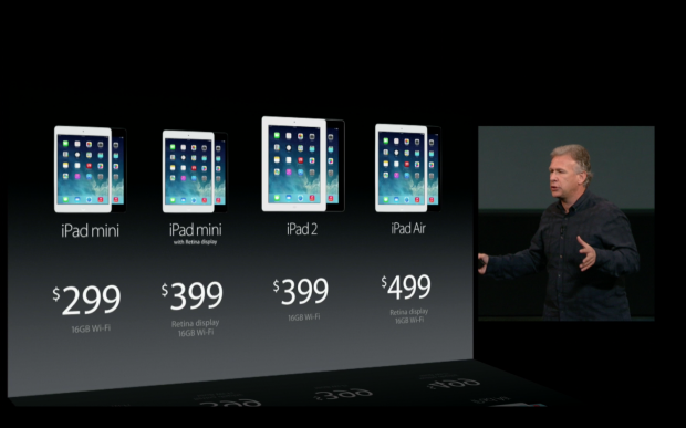 prix differents ipad
