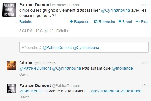 twitter cyril hanouna
